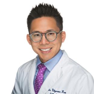 Dr. Ulysses Hsu working at 359 Dental & Orthodontics